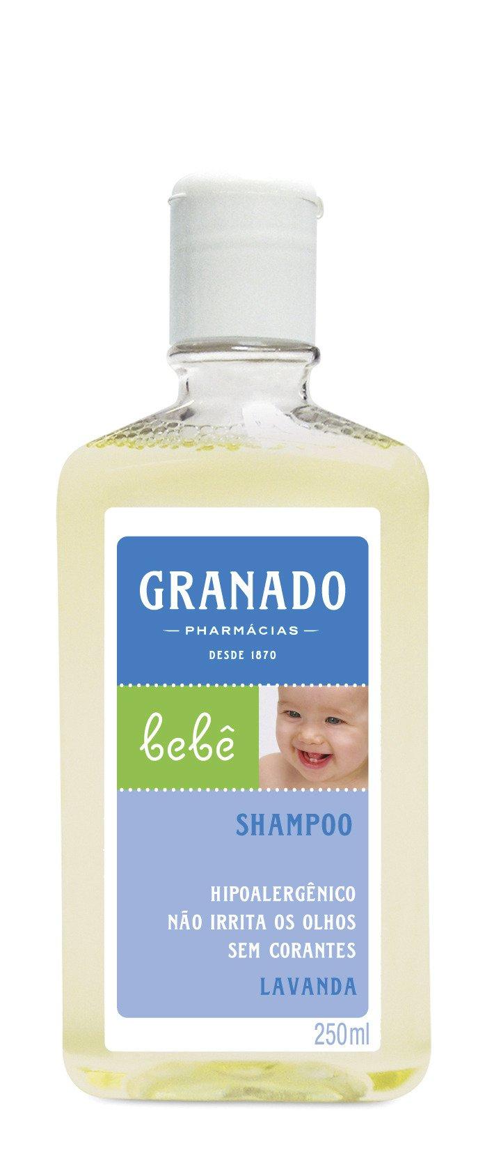 Linha Bebe Granado – Shampoo Bebe Lavanda 250 Ml – (Granado Baby Collection – Lavender Baby Shampoo 8.45 Fl Oz)
