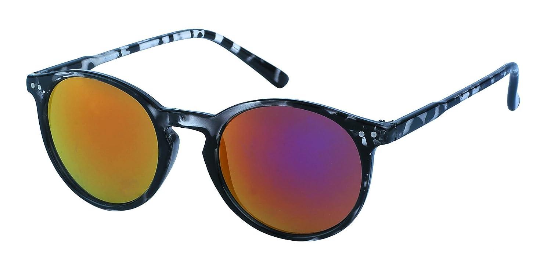 Chic-Net John Lennon gafas de sol alrededor de los puntos oculares Vintage Retro 400UV puente ojo de la cerradura de Gato