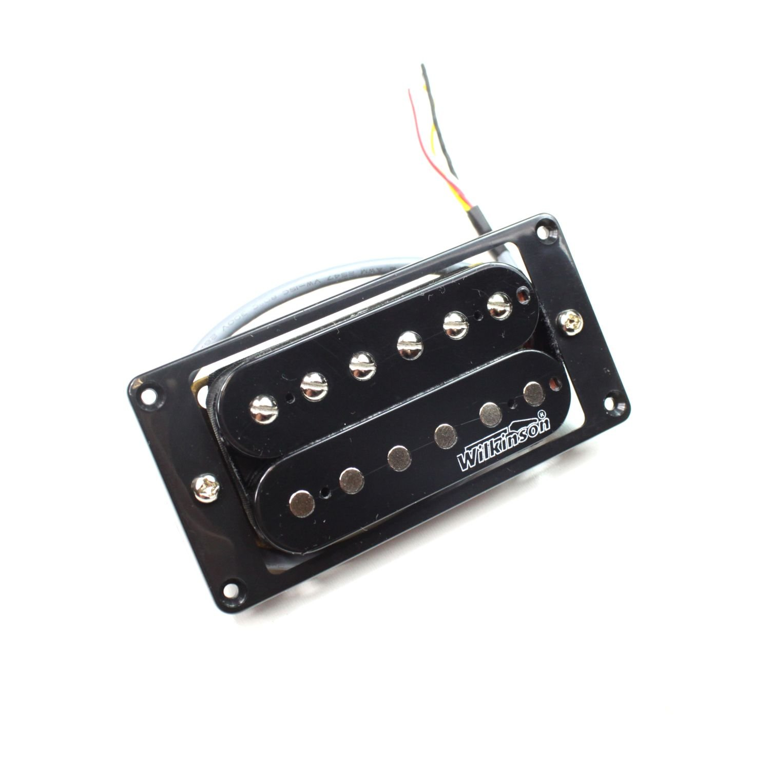 Amazon.com: Wilkinson MWHBN Electric Guitar Neck Pickup Humbucker - Black - High Output: Musical Instruments
