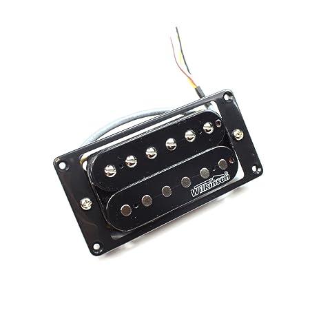 Guitarra Wilkinson mwhbn eléctrica Micro mango pastilla Humbucker – Negro – Alto rendemen
