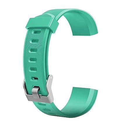 YouN - Correa de reloj con diseño de pulsera y de reemplazo para relojes inteligentes ID115Plus
