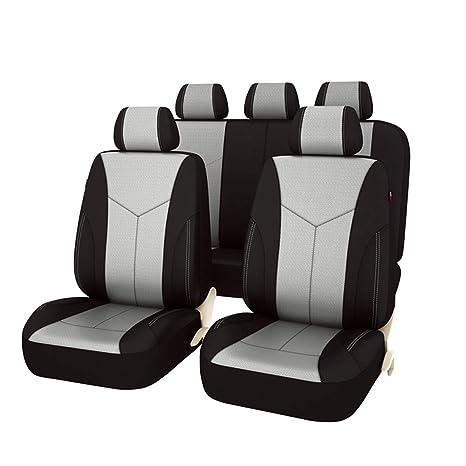 Amazon.com: Set de fundas de asientos universales para auto ...