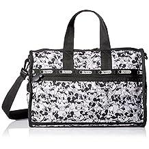 LeSportsac Medium Weekender Duffle Bag, Mickey Loves Minnie, One Size