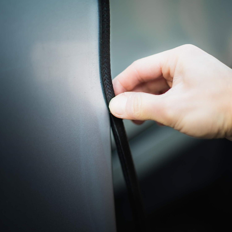 Trixes 5m Car Guard U Form Roll Protective Gummi Tür Strip Einfach Installieren Farbe Schwarz Auto