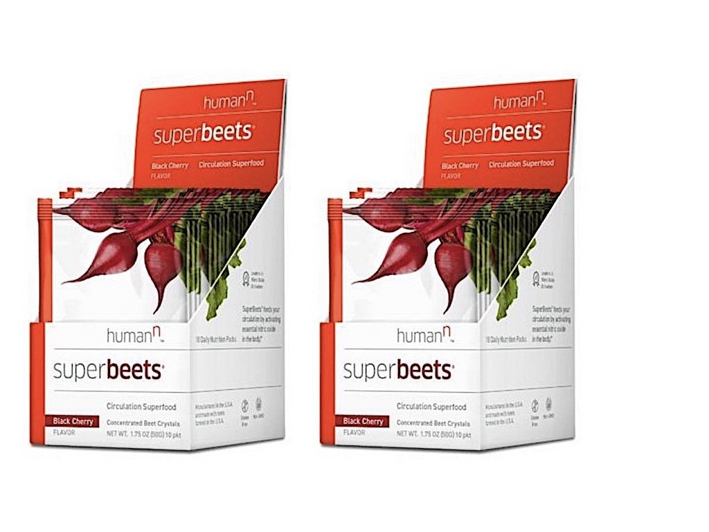Amazon.com: HumanN SuperBeets Circulation Superfood Concentrated Beet Powder Nitric Oxide Boosting Supplement (Black Cherry Flavor, 0.175-Ounce, ...