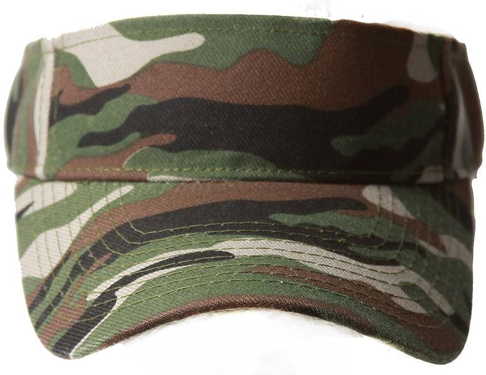 Army Camouflage Sun Visor Hat