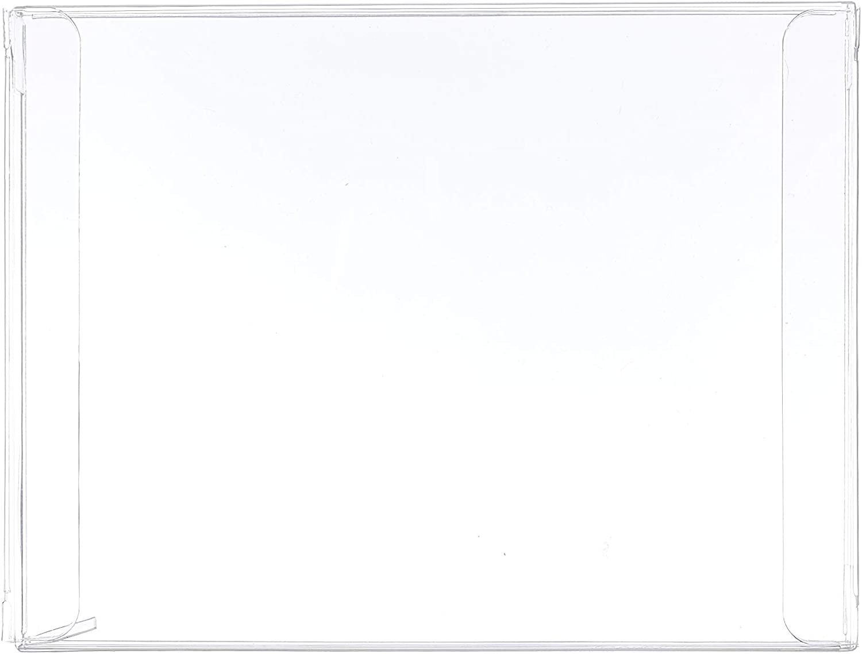- Crystal Clear Box for Greeting Cards Photos 12 Mil Bulk Set BOX5-4-1//2X5//8X5-7//8-B25 25 Transparent Plastic Boxes 4.5 x 0.62 x 5.87 Inch