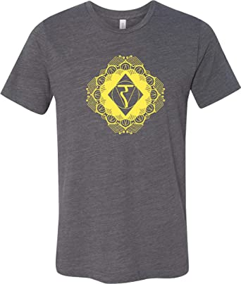 Yoga T-Shirt Diamond Manipura Burnout tee: Amazon.es: Ropa y ...