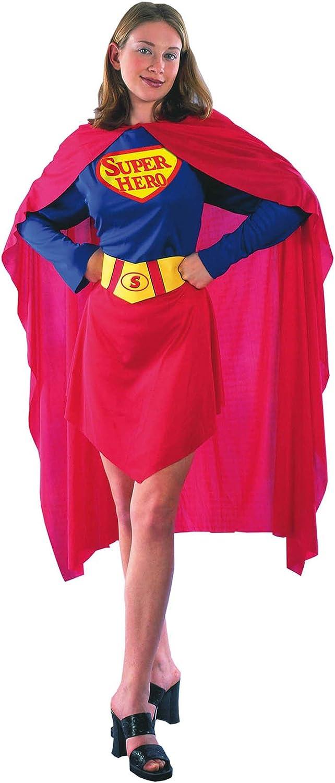 El Carnaval Disfraz Superwoman Adulto: Amazon.es: Juguetes y juegos