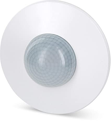 Aufputz infrarrojos Detector de movimiento 360 ° 230 V – con sensor de oscuridad – Alcance