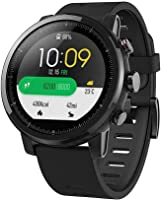 Smart Watch, Amazfit bip Youth Edition GLONASS GPS frequenza cardiaca sport fitness tracker orologio schermo 3,3cm 32G ultra-leggero IP68impermeabile 45DAY standby, donna, Amazfit Bip, Orange