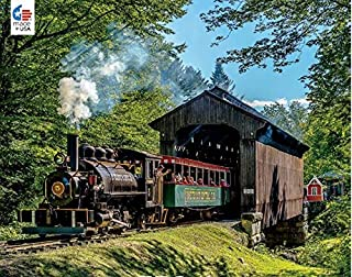 product image for All Aboard Covered Bridge Puzzle - 750Piece