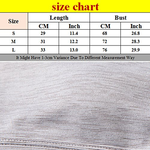Zhhlaixing Fashion Women's Elastic Athletic Bra Vest Breathable Casual Yoga Bra Tops Grey White