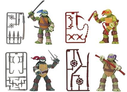 Nickelodeon Teenage Mutant Ninja Turtles Set of 4 Basic ...