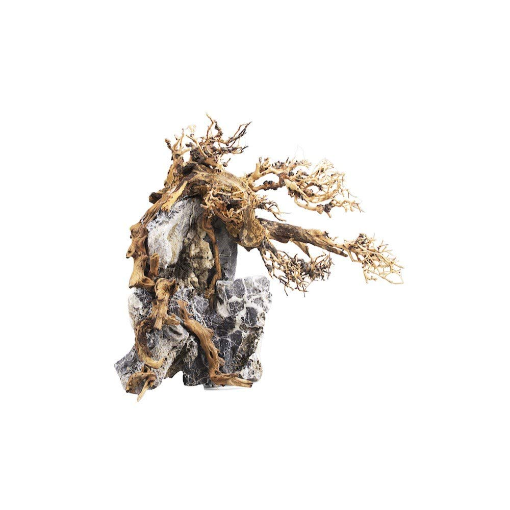 Lifegard Aquatics 12'' Serpentine Bonsai Serpentine Tree, Small 12'' Tall by Lifegard Aquatics