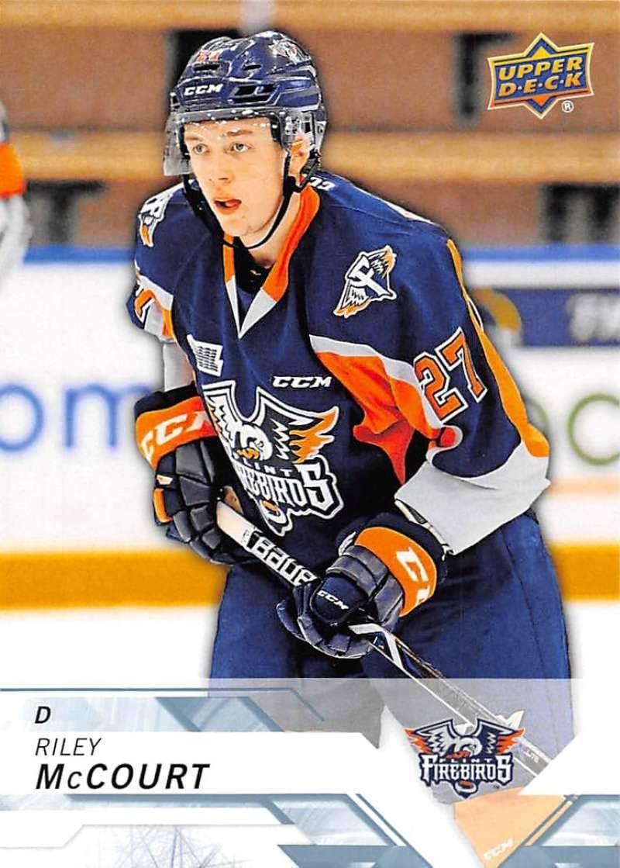 2018-19 Upper Deck CHL Hockey #170 Dennis Busby Flint Firebirds Official Canadian Hockey League Trading Card from UD