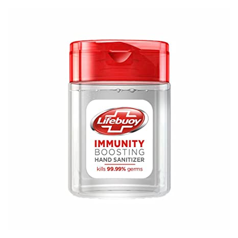 Buy Lifebuoy Total 10 Antibacterial Hand Sanitizer 30 Ml Online At