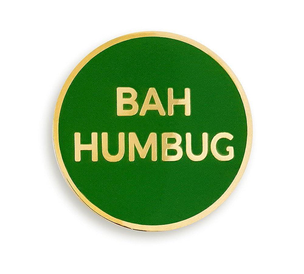Pinsanity Bah Humbug Christmas Holiday Enamel Lapel Pin PS-0128