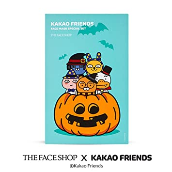 Counting Number worksheets halloween sequencing worksheets : Amazon.com : [The Face Shop x Kakao Friends] Face Mask 5 Sheet ...