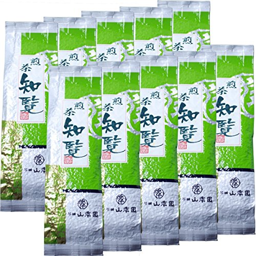 Japanese Tea Shop Yamaneen Japanese Tea Decocted Tea-Leaf Of Chiran 200G x 10packs by Japanese Tea Shop Yamaneen