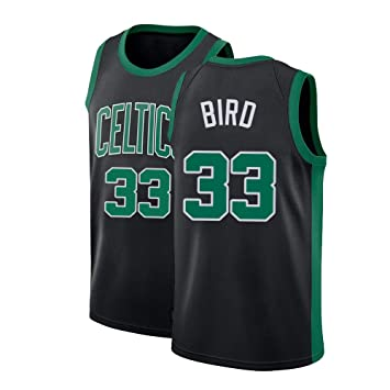 Kswfth Mens Bird Jersey Athletics Retro Adult Boston Basketball 33 Larry