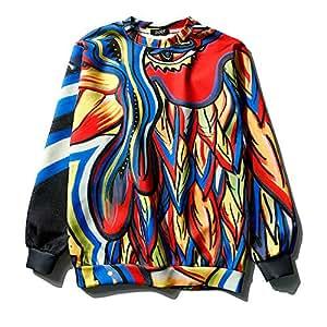 Amazon.com : Simmia Sport Sweater Sweatshirt Pullover