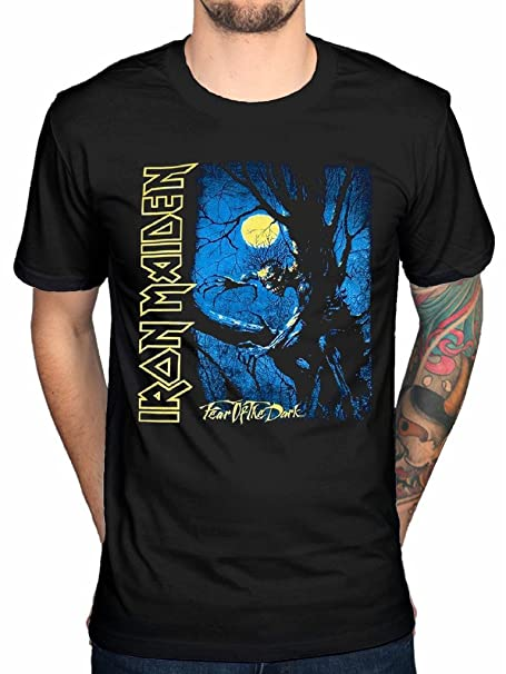 NEW /& OFFICIAL Iron Maiden /'Fear Of The Dark Tree Sprite/' T-Shirt
