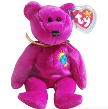 121b96ed6d4 Amazon.com  Ty Beanie Baby 2000 Millenium Bear by Ty Beanie Baby  Toys    Games
