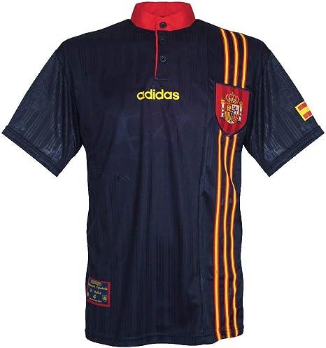 96 – 98 España Away Camiseta, Hombre, Azul: Amazon.es: Deportes y ...