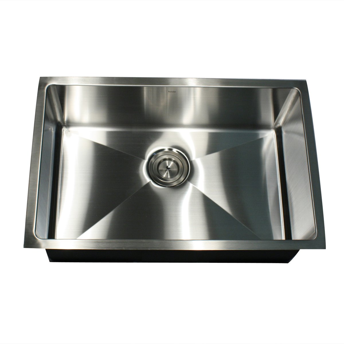 Genial Nantucket Sinks SR2818 16 Pro Series Rectangle Single Bowl Undermount Small  Radius Corners Stainless Steel Kitchen Sink, 16 Gauge     Amazon.com