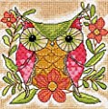 Dimensions Crafts 71-07241 Whimsical Owl Needlepoint