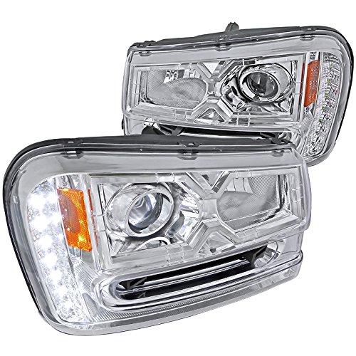 Spec D Tuning 2LHP TBLZ02 V2 RS Trailblazer Headlights