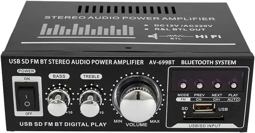 Mini Audio Stereo Leistungsverstärker Lcd Display Hifi Elektronik