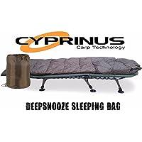 Carpstar Cyprinus Snooze - Saco de Dormir para Pesca de Carpas, 5 Estaciones, Saco