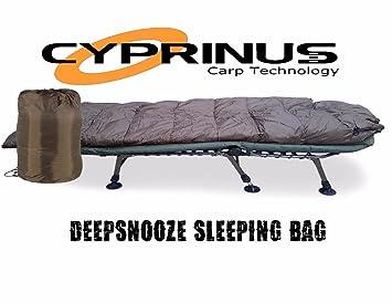 Carpstar Cyprinus Snooze - Saco de Dormir para Pesca de Carpas, 5 Estaciones, Saco de Dormir Grande para Senderismo, Saco de Dormir para Zorros: Amazon.es: ...