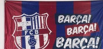 FC Barcelona Fan Artículo habitaciones Bandera 90 x 140 cm con logo ... db4451bb7c3