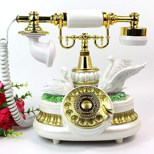 RFJJ Tocadiscos Antiguos Antiguos teléfonos Retro Antiguos ...