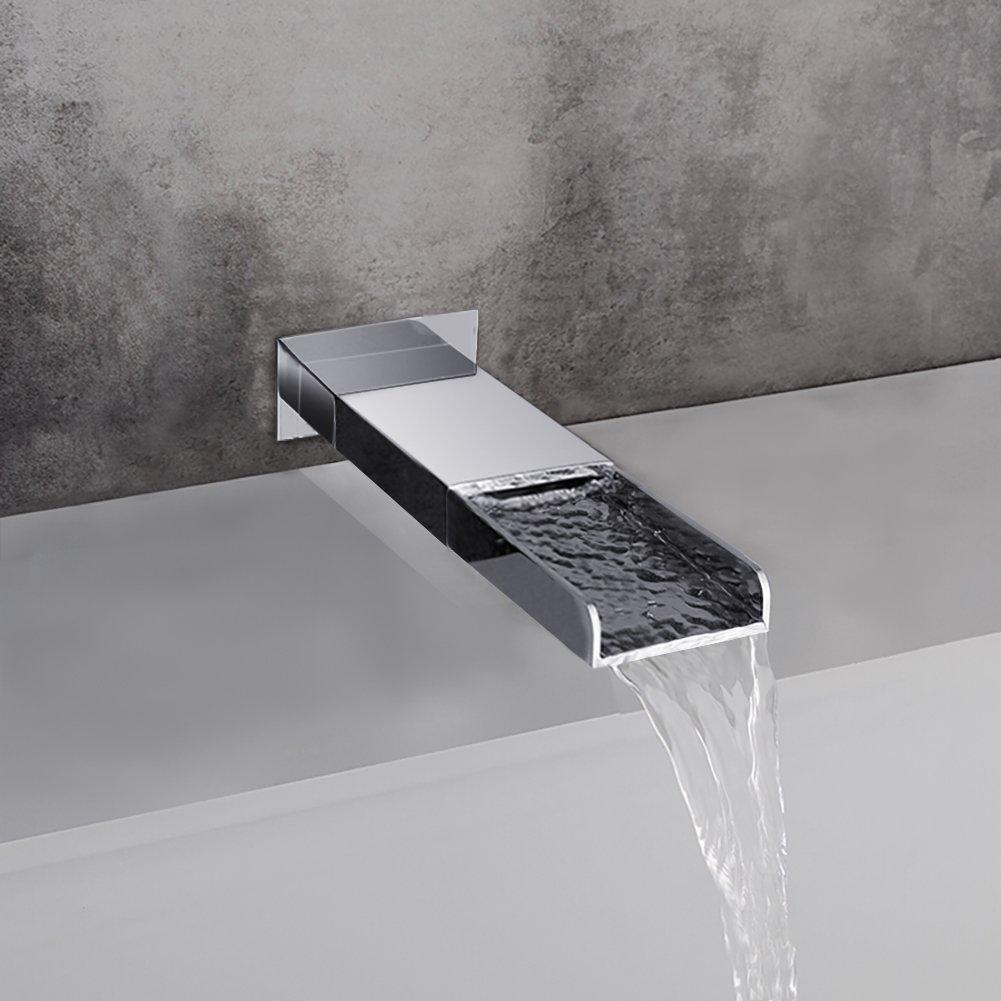 SR SUN RISE Bathroom Luxury Rain Mixer Shower Tub Spout Combo Set ...