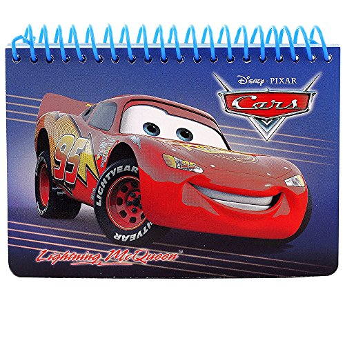 Disney Car Authentic Licensed Autograph Book (Blue)