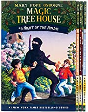 Magic Tree House Books 5-8 Boxed Set