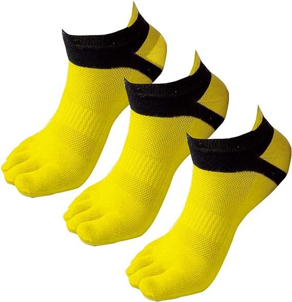 Panegy - Pack de Calcetines de 5 Dedos para Hombres para Deportes ...