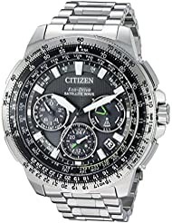 Citizen Mens Eco-Drive Promaster Navihawk Satelitte GPS Watch with Day/Date, CC9030-51E
