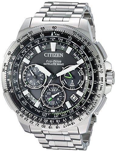 Citizen Men's 'Navi Series' Quartz Stainless Steel Casual Watch, Color:Silver-Toned (Model: CC9030-51E)