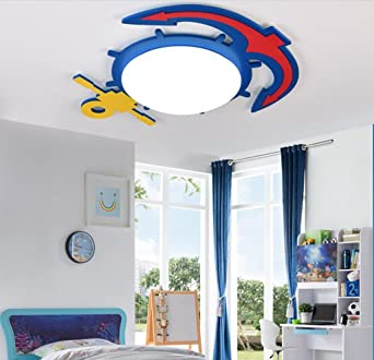 Uus Mur Lampe Enfants Chambre Garçon Fille Bande Dessinée Chambre Oeil  Chambre Mur Lampe Voiture Plafond