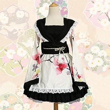 GGOODD Mujeres Traje De Criada Tradicional Japonesa Lolita Kimono ...