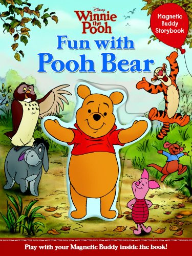 Disney Winnie the Pooh Fun with Pooh Bear: Magnetic Buddy Storybook