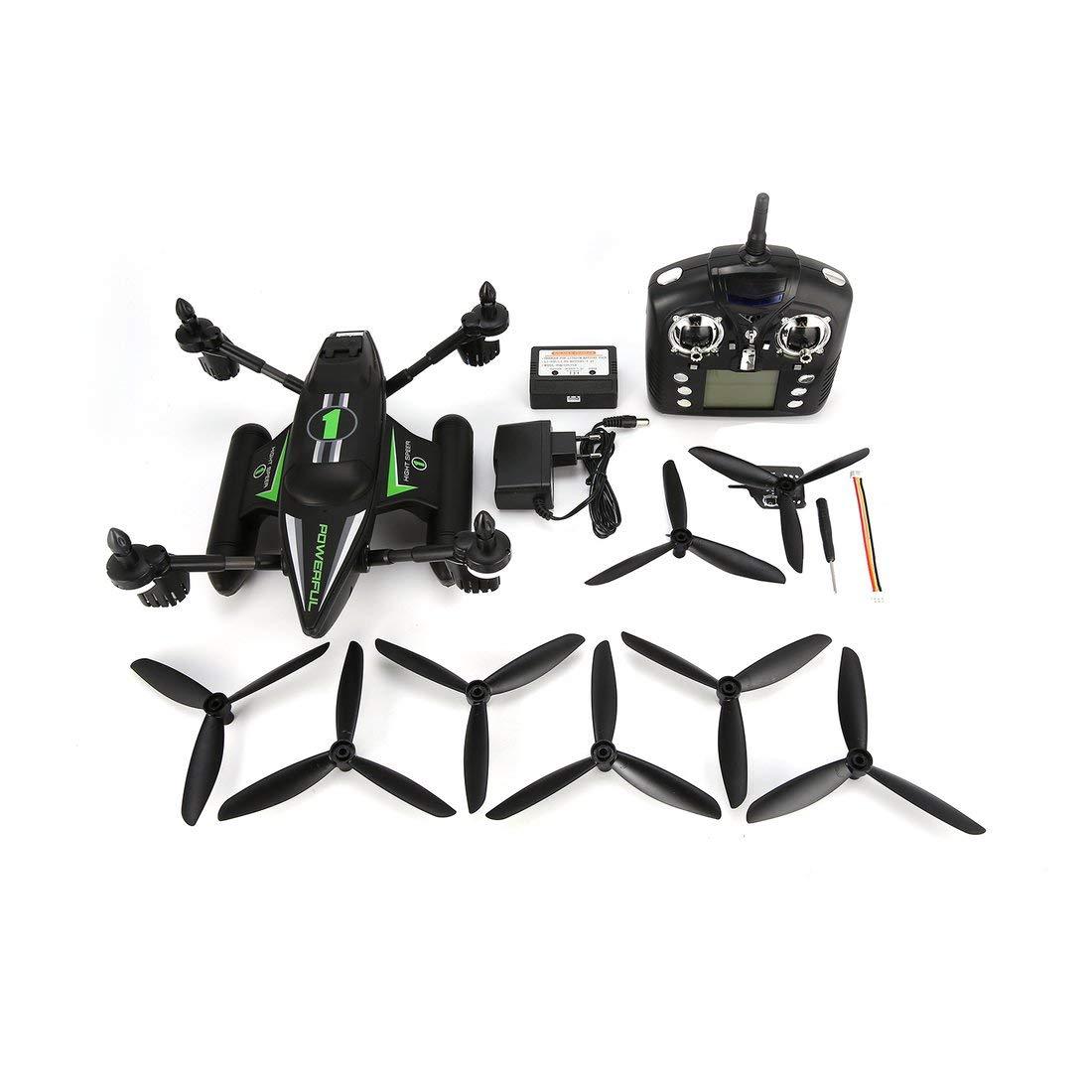 Formulaone WLtoys Q353 3 in 1 Wasserdichte RC Quadcopter 2.4G Drohne mit Air Land Sea-Modus Höhenstand Headless-Modus RTF - Grün