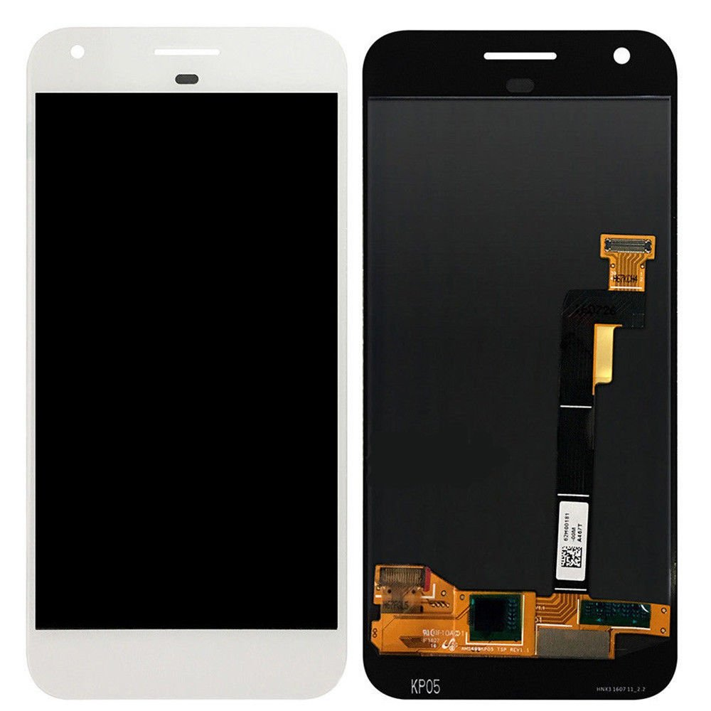 Kiker 5'' LCD Display Touch Screen Digitizer Assembly for Google Pixel (White)