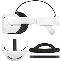 Esimen Adjustable Head Strap for Oculus Quest VR Comfort Foam Pad Strap, Ergonomisches Design Balance Weight, Relieve…