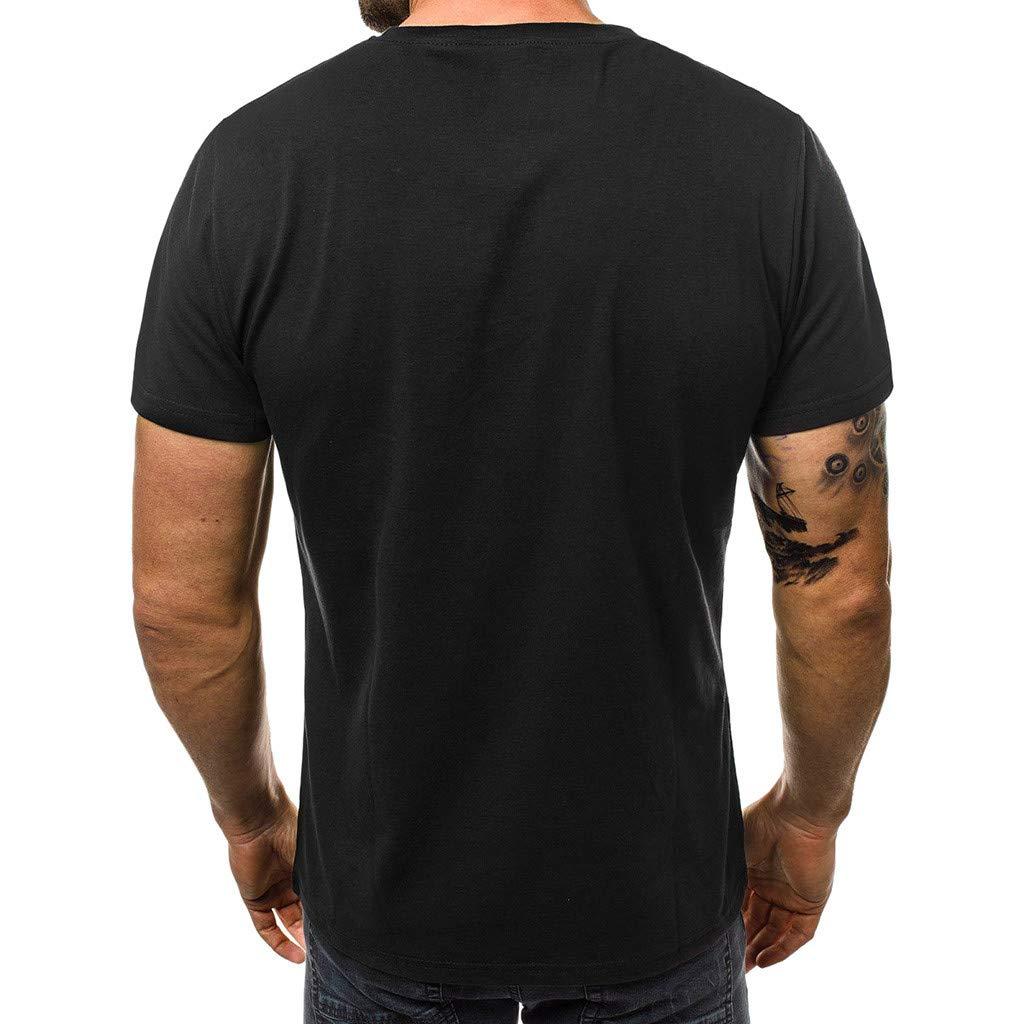 Simayixx Sport Tops Men Short Sleeve Hipster Hip Hop Basic Henley T Shirt for Men Tee Slim Gym Teens Summer Blouses Vest